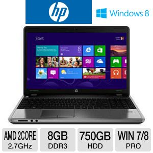 "HP ProBook 4545s 15.6"" AMD Dual-Core Notebook"