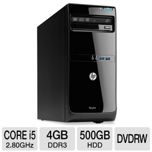 HP Core i5 500GB HDD Desktop PC