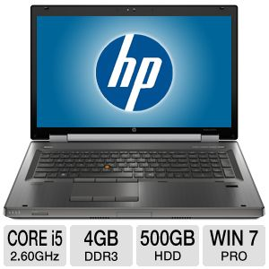 "HP EliteBook 8760w 17.3"" Notebook PC"