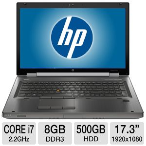 HP EliteBook Mobile Workstation 8760w - 17.3""