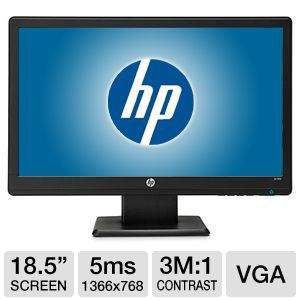"HP LV1911 18.5"" Widescreen 1366x768 LED Monitor"