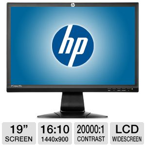 HP L190w 19&quot; Class 1440x900 Widescreen LCD Monitor