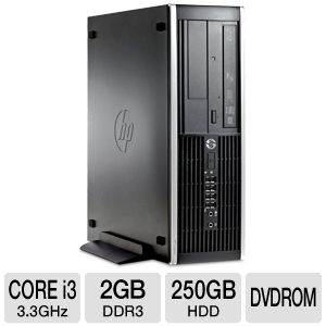 HP Compaq 6200 Core i3, 2GB, 250GB HDD Desktop PC