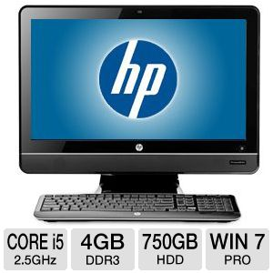HP Compaq Core i5 750GB HDD 4GB DDR3 All-In-One PC