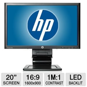 "HP Compaq LA2006x 20"" Class Widescreen LED Monitor"