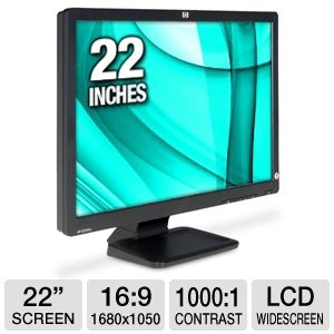 "HP LE2201w 22"" Widescreen LCD Monitor NK571A8#ABA"