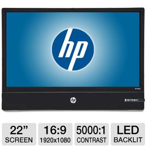 "HP Micro-thin 22"" LED Monitor (Display Port Only)"
