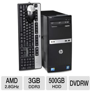 HP 505B B2C02UT Desktop PC REFURB