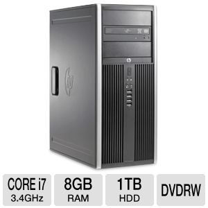 HP Compaq 8200 Elite Core i7 1TB HDD Desktop PC