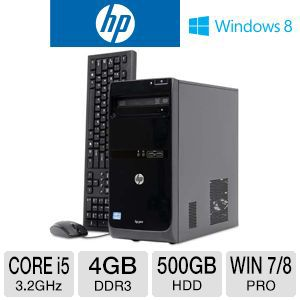 HP 3500 Pro Core i5 500GB HDD 4GB DDR3 Desktop PC