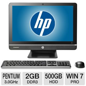 "HP 20"" Pentium 500GB HDD 4GB DDR3 All-In-One PC"