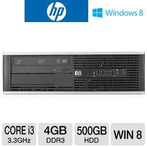 HP Compaq Core i3 500GB HDD 4GB DDR3 Desktop PC
