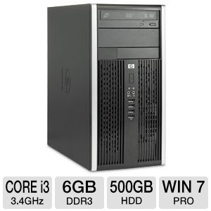 HP Compaq Pro 6300 Core i3 500GB HDD Desktop PC
