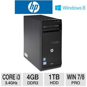HP Pro 3500 Core i3 1TB HDD 4GB DDR3 Desktop PC