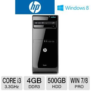 HP Pro 3500 Core i3 500GB HDD Desktop PC