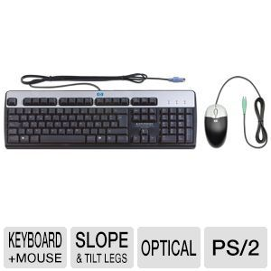 HP KF886AT PS/2 Keyboard and Optical Mouse Kit