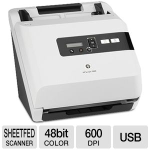 HP Scanjet 7000 Sheetfeed Scanner 40 ppm / 80 ipm