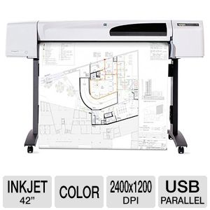 HP Designjet 510 Color Inkjet Printer