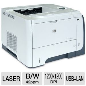 HP LaserJet P3015DN Mono Laser Printer / Network
