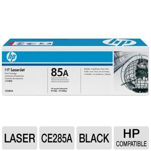 HP 85A CE285A Black LaserJet Toner - 1,600 pages