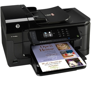 HP 6500A OfficeJet All-in-One Color Inkjet Printer