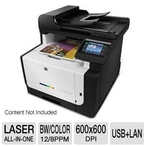HP LaserJet Pro CM1415 WiFi Color Multifunction