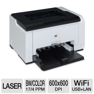 HP LaserJet Pro CP1025nw WiFi Color Printer