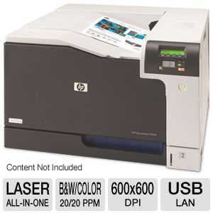 HP CP5225n LaserJet Color Printer