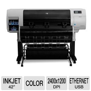 "HP CQ105A Designjet T7100 42"" Color Inkjet Printer"