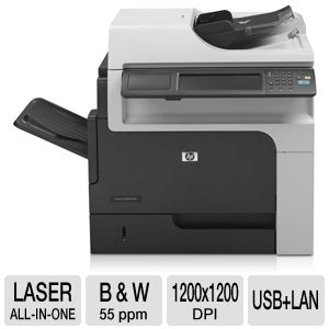 HP LaserJet Enterprise M4555h B&amp;W Laser MFP