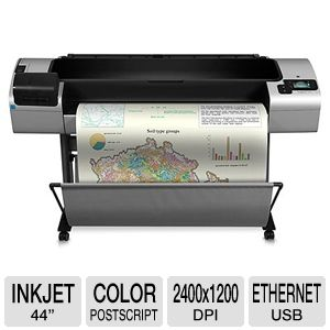 HP T1300ps DesignJet Large Format Inkjet ePrinter