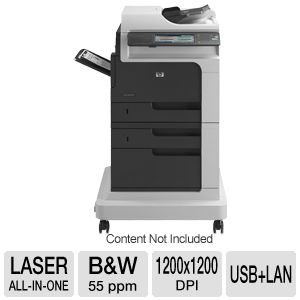 HP M4555f  LaserJet Enterprise B&W MFP