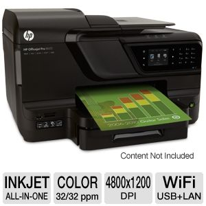 HP Officejet Pro 8600 WiFi e-All-in-One Printer
