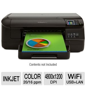 HP Officejet Pro 8100 CM752A Wi-Fi Inkjet Printer