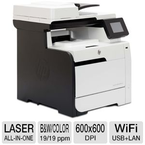 HP LaserJet Pro 300 WiFi Color MultiFunction