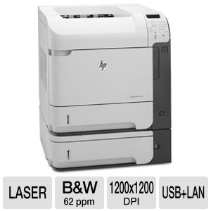HP LaserJet Enterprise 600 CE996A Laser Printer