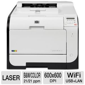 HP LaserJet Pro 400 Color Printer - CE958A