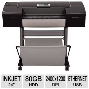 "HP Designjet Z3200ps 24"" Lrg Format Photo Printer"