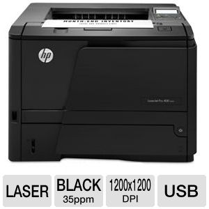 HP LaserJet Pro 400 M401n Mono-Laser Printer
