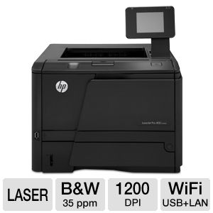 HP LaserJet Pro 400 M401dw WiFi Printer Duplex