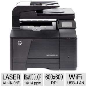 HP LaserJet Pro 200 M276NW WiFi Color All-In-One