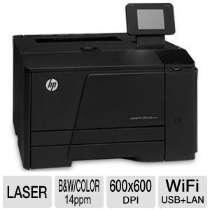 HP LaserJet Pro 200 M251nw WiFi Color Printer