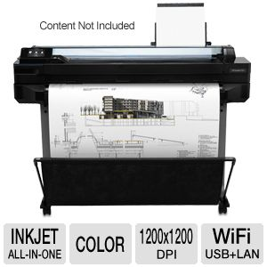 "HP Designjet T520 Thermal Inkjet 36"" ePrinter"