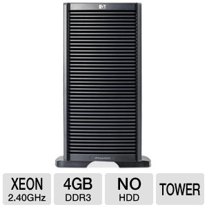 HP ProLiant ML350 Intel Xeon Tower Server REFURB
