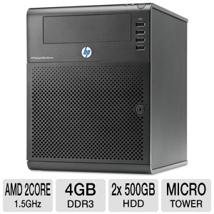 HP ProLiant MicroServer - Turion II Neo N40L 1.5