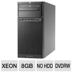 HP ProLiant Quad Core Intel Xeon Tower (4U) Server