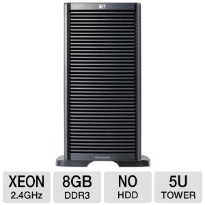 HP ProLiant ML350 G6 - Xeon E5620 2.4 GHz non