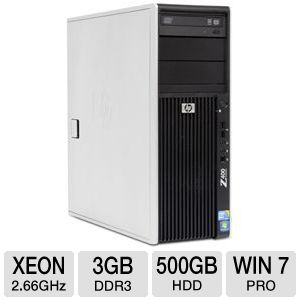 HP Z400 FM065UT Workstation PC