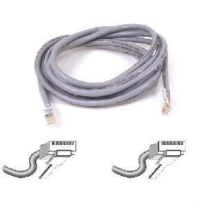 Belkin patch cable - 1.5 ft - gray
