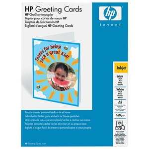 Hp matte quarter fold greeting cards c1812a at tigerdirect hp matte quarter fold greeting cards m4hsunfo